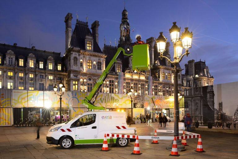 Véhicule électrique France Elévateur