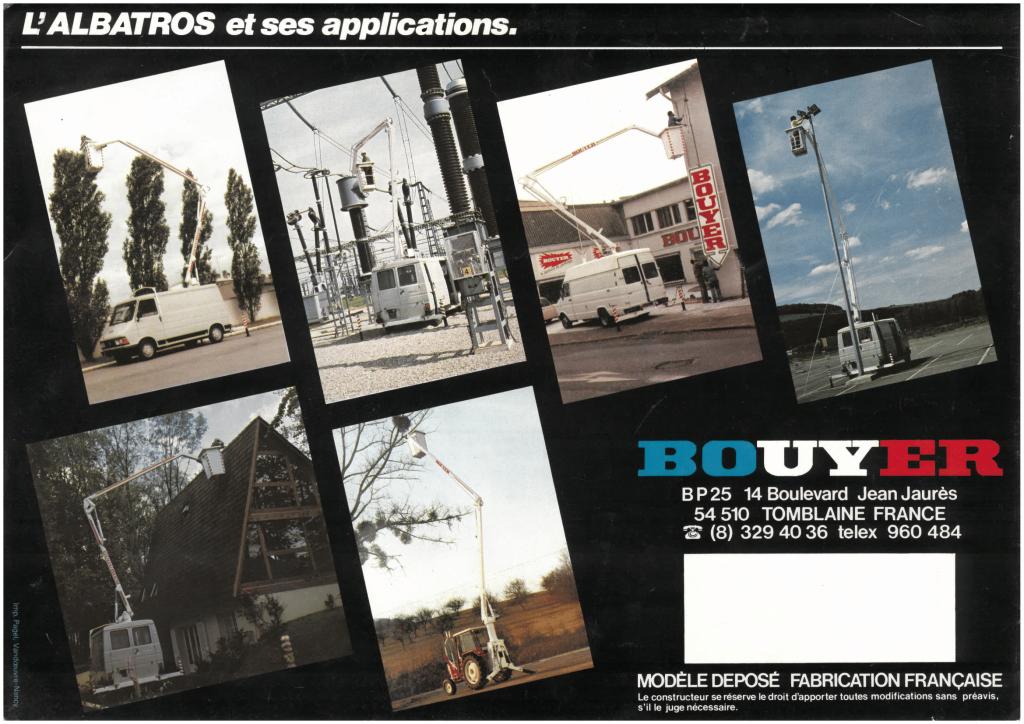 Publicité Bouyer