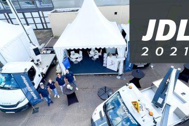 France Elévateur aux JDL, vue du haut de leur stand
