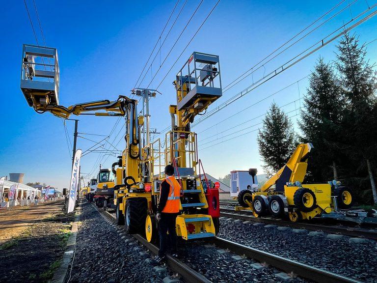 véhicules rail aux Mecteameetings